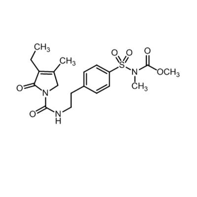 Glimepiride EP Impurity G (Glimepiride N-Methyl Ester)